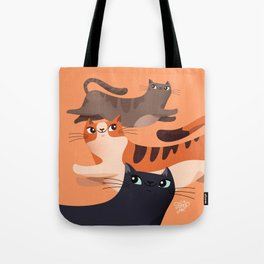 Jumping Cats 2.0 Tote Bag