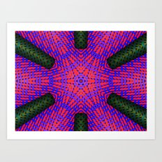 Abstract X One Art Print