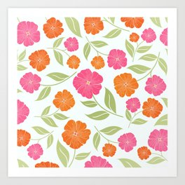Summer Wildflowers Art Print