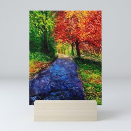Autumn Breeze Mini Art Print