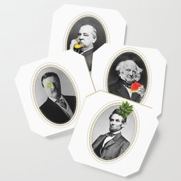 Teddy Kiwi Coaster