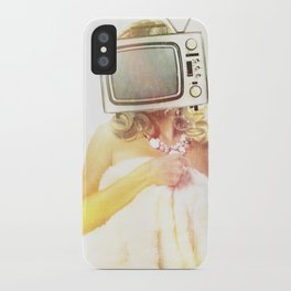 SEX ON TV - FOXY by ZZGLAM iPhone Case