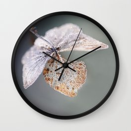 Sparkling Frost Wall Clock