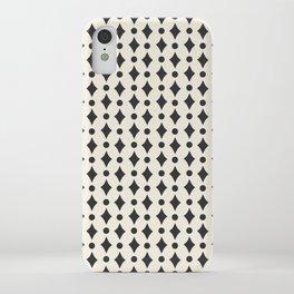Vintage Jewels - Black iPhone Case