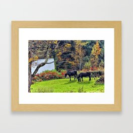 Graze Framed Art Print