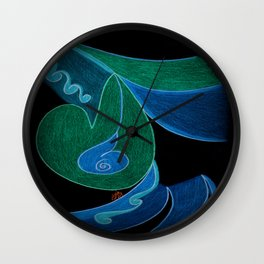 Mystical Charm Wall Clock
