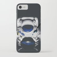 battlestar galactica iPhone & iPod Cases featuring Cafe Galactica by JoPruDuction Art