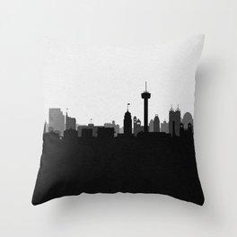 City Skylines: San Antonio (Alternative) Throw Pillow