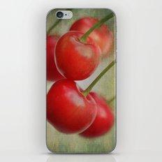 Cherries in the wind iPhone & iPod Skin