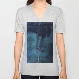 Into The Blue No.3p by Kathy Morton Stanion Unisex V-Neck