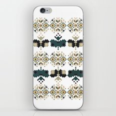 Bulgarian embroidery pattern 03 iPhone Skin