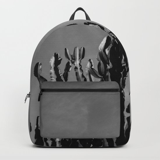 Monochrome Cactus Sky Backpack