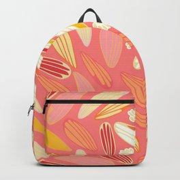petaled dandelion pink perfection Backpack