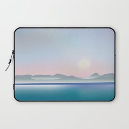 Moon over Puget Sound Laptop Sleeve