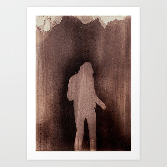 Last man standing Art Print
