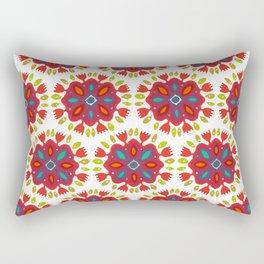FLOR XL white Rectangular Pillow