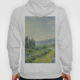 "Claude Monet ""The Road to Vétheuil"" (1880) Hoody"