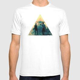 Shape of the ocean T-shirt