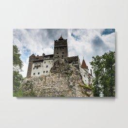 Bran Castle Metal Print