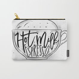 Cappuccino cup Carry-All Pouch