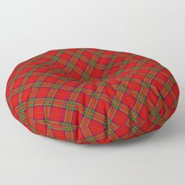 Tartan Plaid  Pattern Floor Pillow