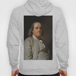 Benjamin Franklin Oil Painting Hoody