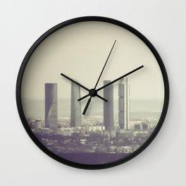 Madrid  Wall Clock