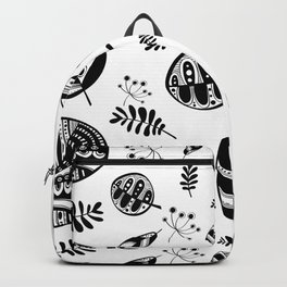 Graphical fall of the leaves Backpack