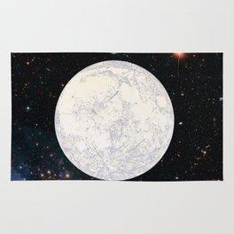 Moon machinations Rug