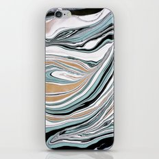Teal Scape iPhone & iPod Skin