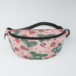 Strawberry Blush - Cute Pink Fanny Pack