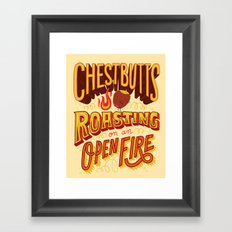 Chestbutts Framed Art Print