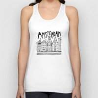 amsterdam Tank Tops featuring Amsterdam by Heather Dutton