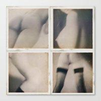 erotic Canvas Prints featuring Erotic seduction by Jean-François Dupuis