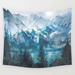 Towering Peaks Wall Tapestry