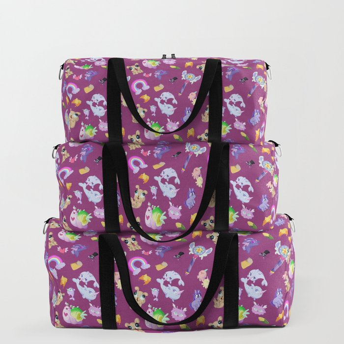 Star vs the Forces of Evil Pattern ( Pink ) Duffle Bag by sabrina marcos  9ad74ed45917f