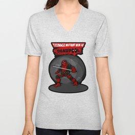 Teenage Mutant Ninja Deadpool Unisex V-Neck