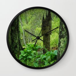 Fairy House Wall Clock