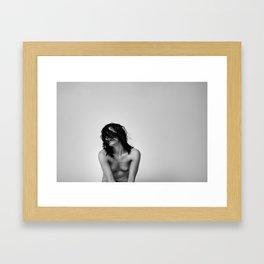 Blindfold 1  Framed Art Print