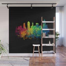 Painted Skylines: Atlanta Wall Mural