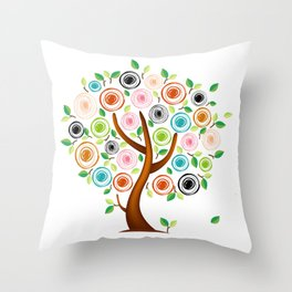 Tree #02 Throw Pillow