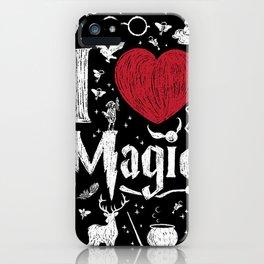 I love Magic iPhone Case