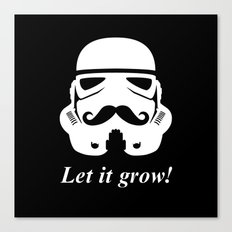 Bearded trooper Canvas Print
