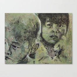 Third World: 5 Canvas Print