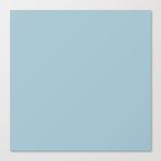 Tropical Waters Blue Canvas Print