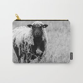 Sheep with sharp eyes Carry-All Pouch