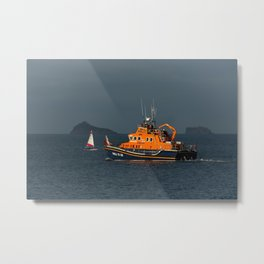 RNLI Lifeboat Torbay Metal Print