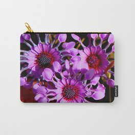 Purple Whirligig - Phoenix Carry-All Pouch