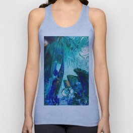 Bright Ocean Spaces, Tiny World Collection Unisex Tank Top