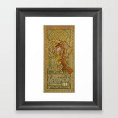 Ionic Asterion Framed Art Print